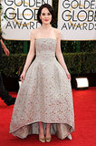 Michelle Dockery Remains a Lady at the Golden Globes