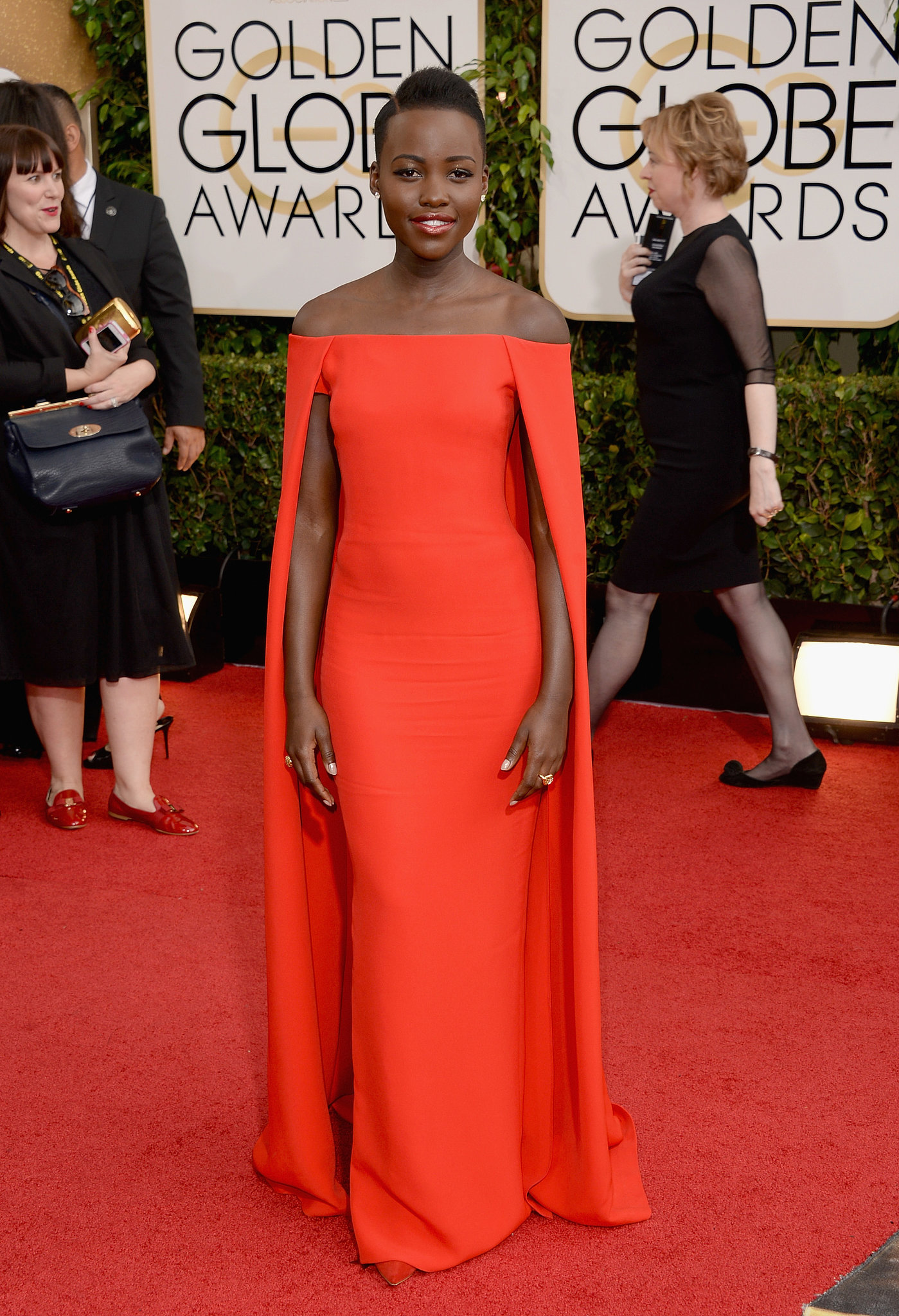 Lupita Nyong'o made a stunning Golden Gl