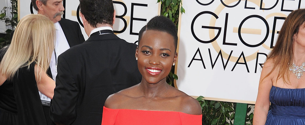 Lupita Nyong'o Sticks to Her Signature Bright Lips — Love It?