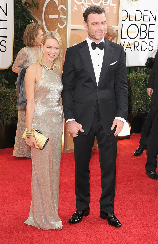 Liev Schreiber and Naomi Watts Are Popping (Mini) Bottles