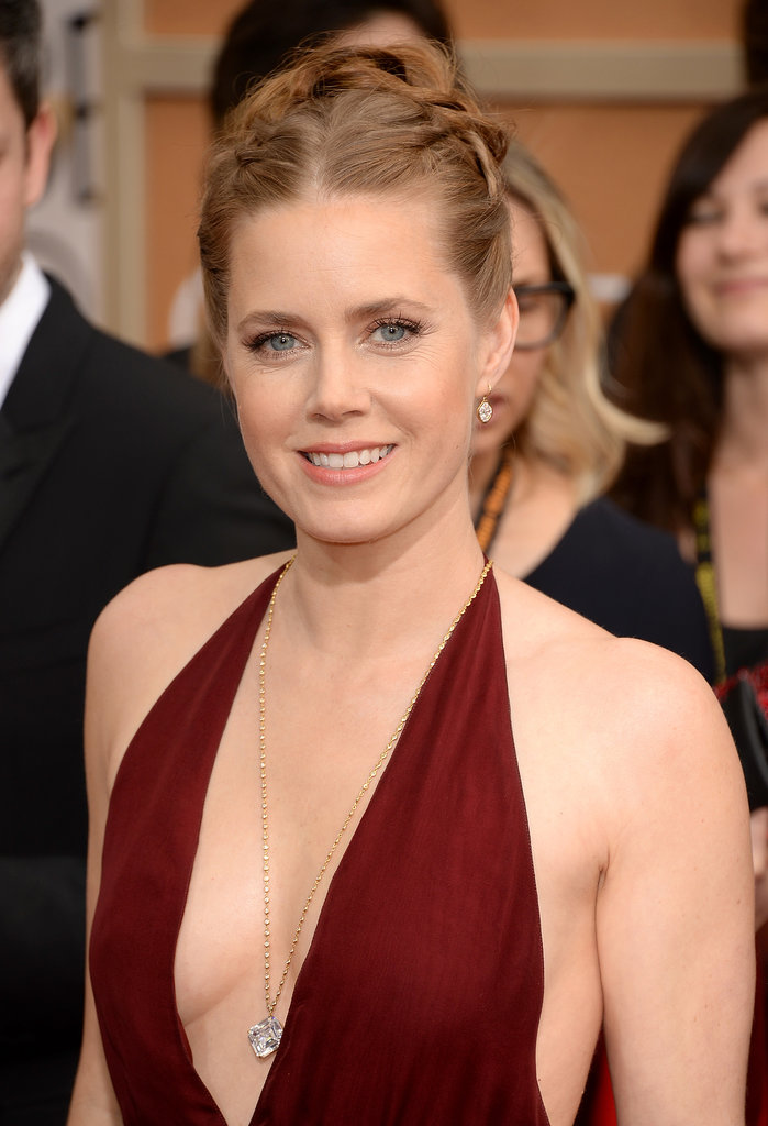 Amy Adams Takes the Plunge in Red