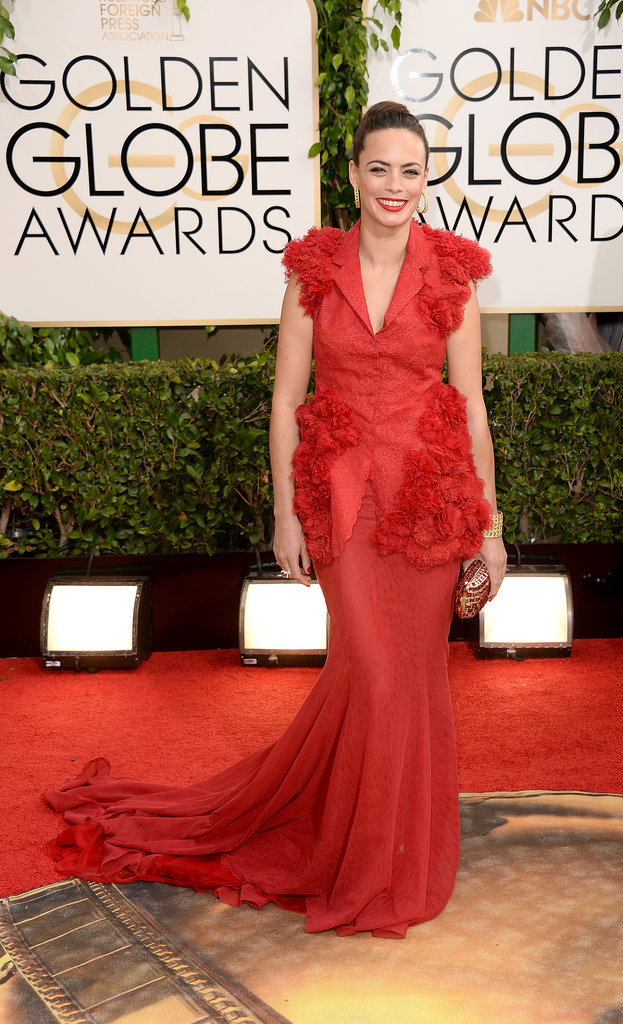 Bérénice Bejo at the Golden Globes 2014