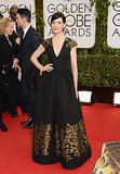 Julianna Margulies at the Golden Globes 2014