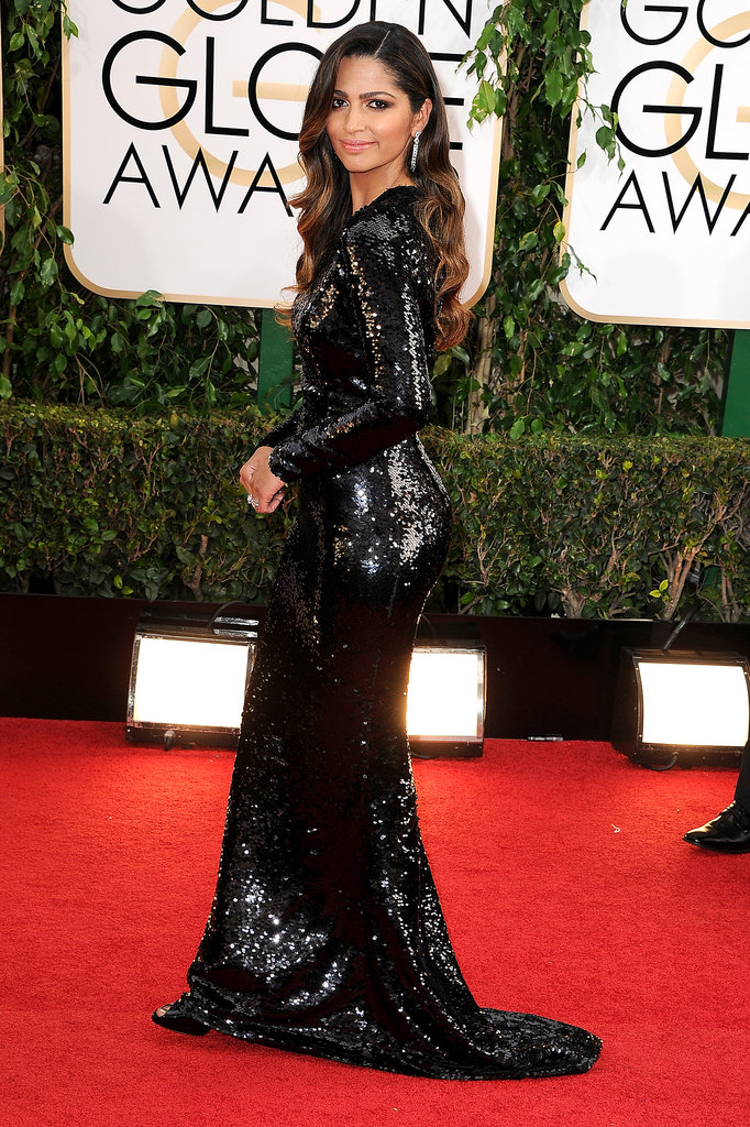 Camila Alves at the Golden Globes 2014
