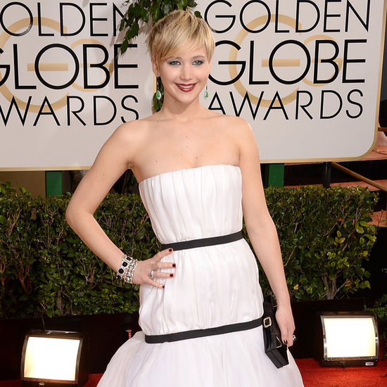 Jennifer Lawrence at the Golden Globe Awards 2014