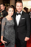 Chris O'Donnell hit the red carpet with his wife, Caroline Fentress.