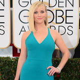 Reese Witherspoon Dress on Golden Globes 2014 Red Carpet
