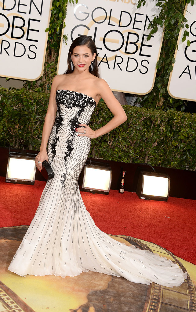 Jenna Dewan at the Golden Globes 2014