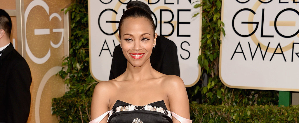 Is Zoe Saldana's Classic Makeup Palette Thrilling You?