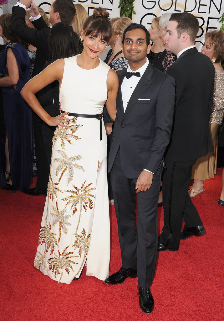 Aziz Ansari and Rashida Jones Found Each Other in the Middle of Madness