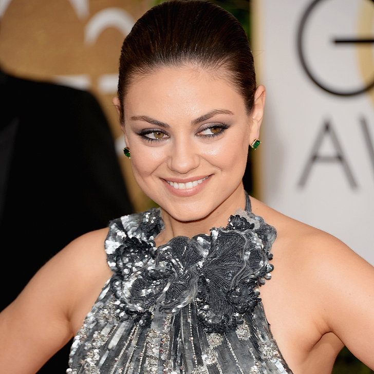 Mila Kunis Dress on Golden Globes 2014 Red Carpet