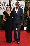 Idris Elba and Naiyana Garth hit the red carpet together.