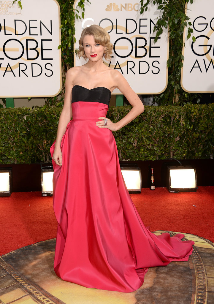 Taylor Swift in Carolina Herrera