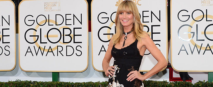 Vote: Heidi Klum Wore a Bouquet to the Red Carpet