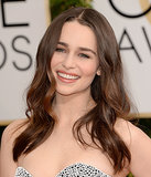 Emilia Clarke nailed the off-duty-model look with breezy beach waves and fresh-faced makeup.