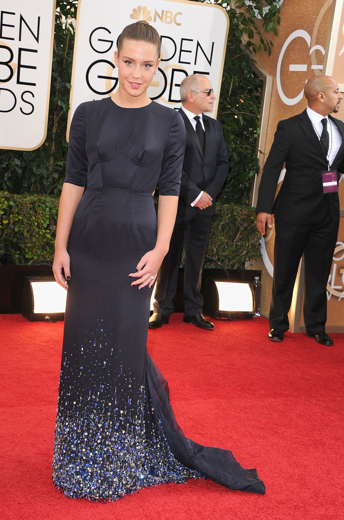 Adèle Exarchopoulos at the Golden Globes 2014