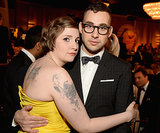 Lena cuddled up to musician Jack Antonoff during the show.