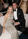Naomi Watts and Liev Schreiber lounged at the bash.