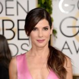 Sandra Bullock's Hair and Makeup at Golden Globe Awards 2014
