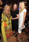 Goldie Hawn, Julia Roberts, and Gwyneth Paltrow shared a moment inside.