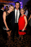 Charlize Theron met with Chris Hemsworth and Elsa Pataky on Saturday at the Help Haiti Home event.