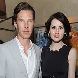 Michelle Dockery and Benedict Cumberbatch Before the Globes