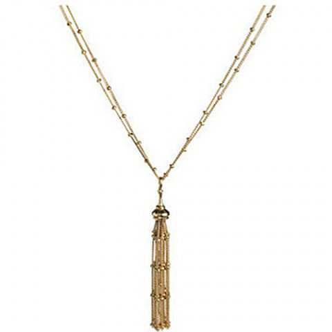 Links Of London Necklace Raindance 18ct Gold Pendant
