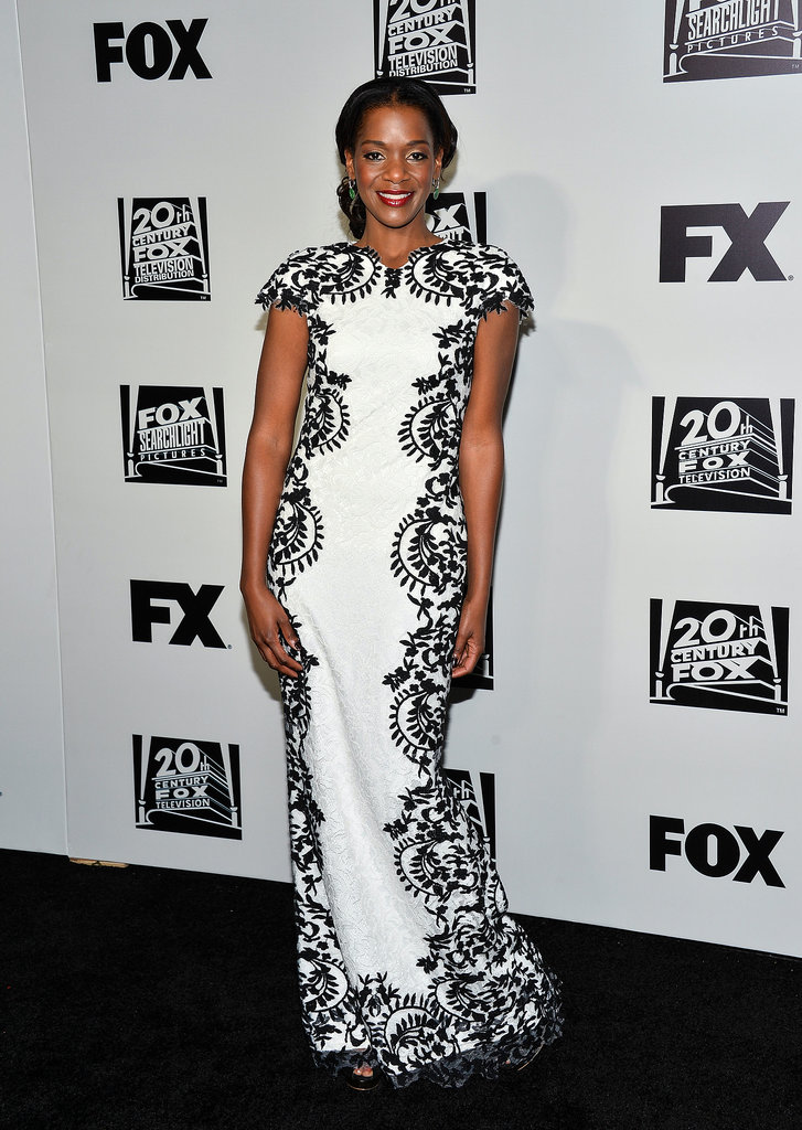 12 Years a Slave's Kelsey Scott looked gorgeous in white.