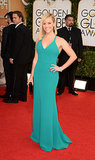 Reese Witherspoon at the Golden Globes in Calvin Klein Collection