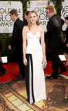Laura Carmichael at the Golden Globes in Viktor & Rolf