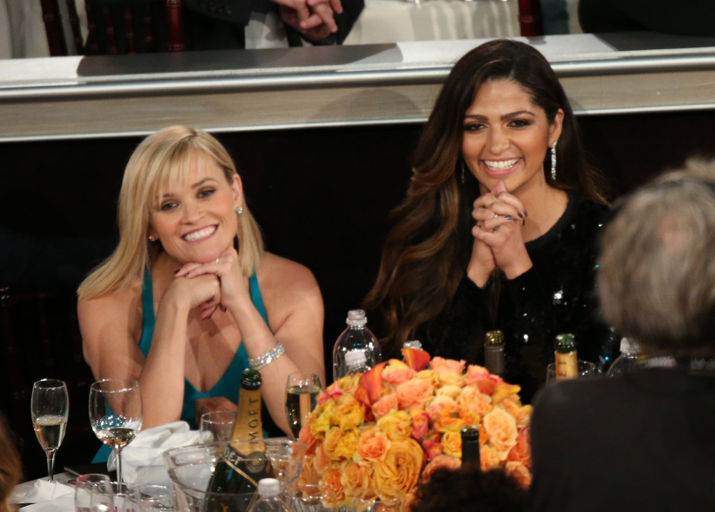 Reese Witherspoon and Camila Alves were basically picture perfect in the Golden Globes audience. Source: Christopher Polk/NBC/NBCU Photo Bank/NBC