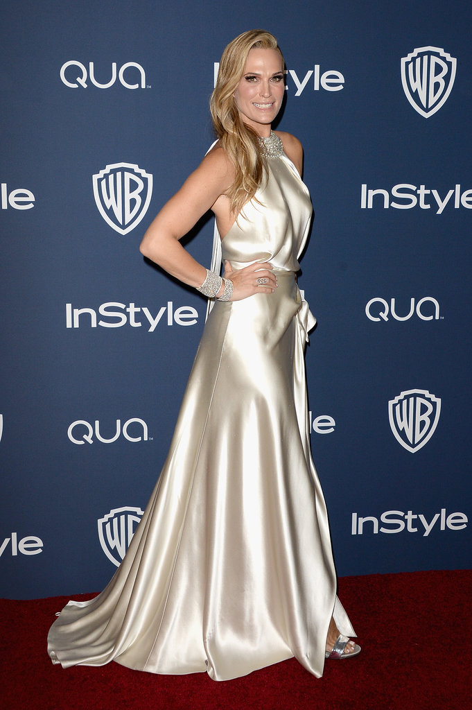 Molly Sims at the InStyle Golden Globes Afterparty