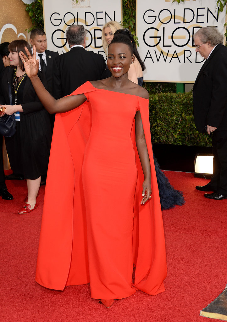 Lupita Nyong'o Is the One to Watch on the Globes Red Carpet