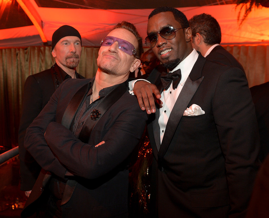 Bono and Diddy Brought So Much Swag