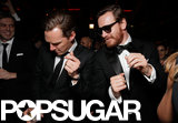 Benedict Cumberbatch got his groove on with Michael Fassbender at the FOX afterparty.