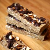 Vegan Protein Bar With Chocolate