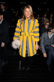 Anna Dello Russo at the Gucci menswear show.