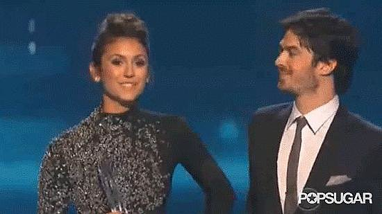 11. Exes Nina Dobrev and Ian Somerhalder Prove They Still Have Chemistry