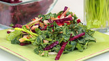 Beet, Kale, and Apple Salad With Mustard Dressing