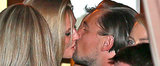 Leo Celebrates His Golden Globe Win With a Special Kiss