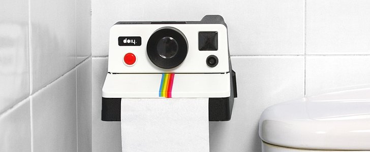 Polaroid Toilet Paper Roll: Funky or Foul?
