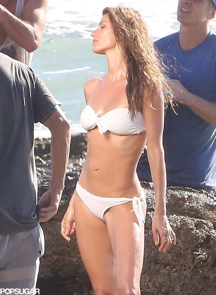 Gisele's Rep Responds to Her Helmet-Free Beach Ride With Vivian