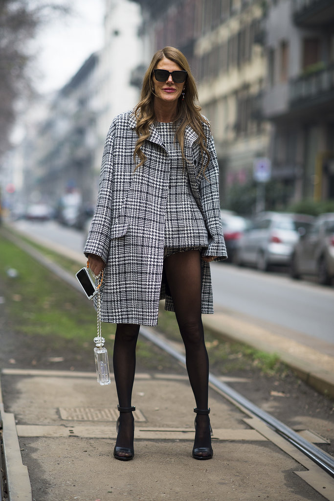 Anna Dello Russo perfected the no-pants look.  Source: Le 21ème | Adam Katz Sinding