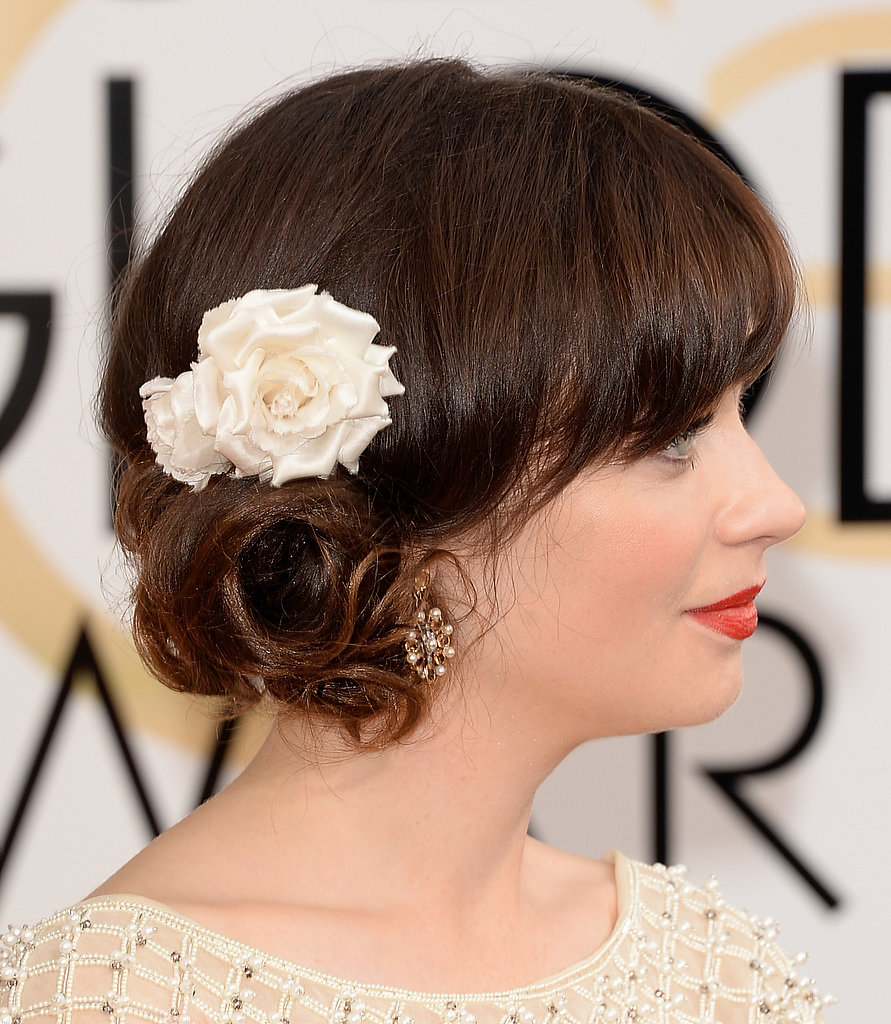 Wedding Hairstyles: To the side