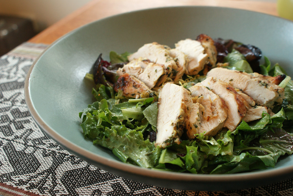 Grilled Chicken Salad With Sherry Herb Vinaigrette