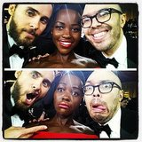 """Introducing @jaredleto to my best friend @bkkahn brings the goof out of all of us."" Source: Instagram user lupitanyongo"
