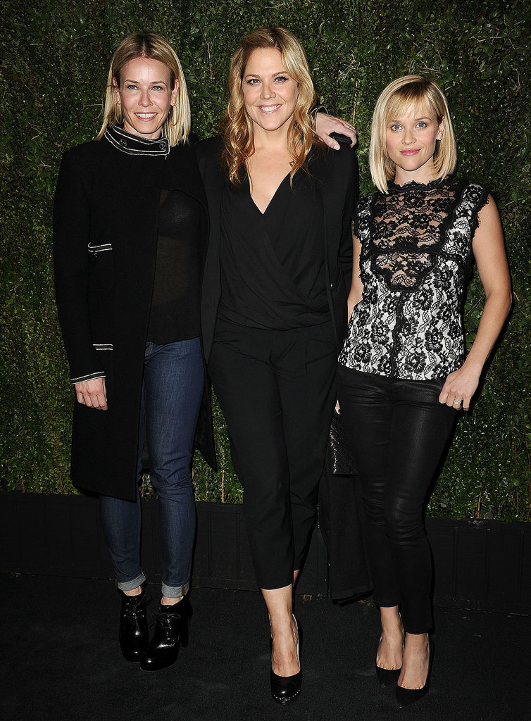 Chelsea Handler, Mary McCormack, and Reese Witherspo