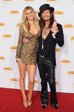Marisa Miller posed with Steven Tyler.