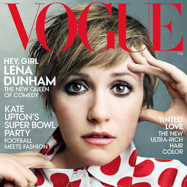 "Vogue Crowns Lena Dunham ""The New Queen of Comedy"""