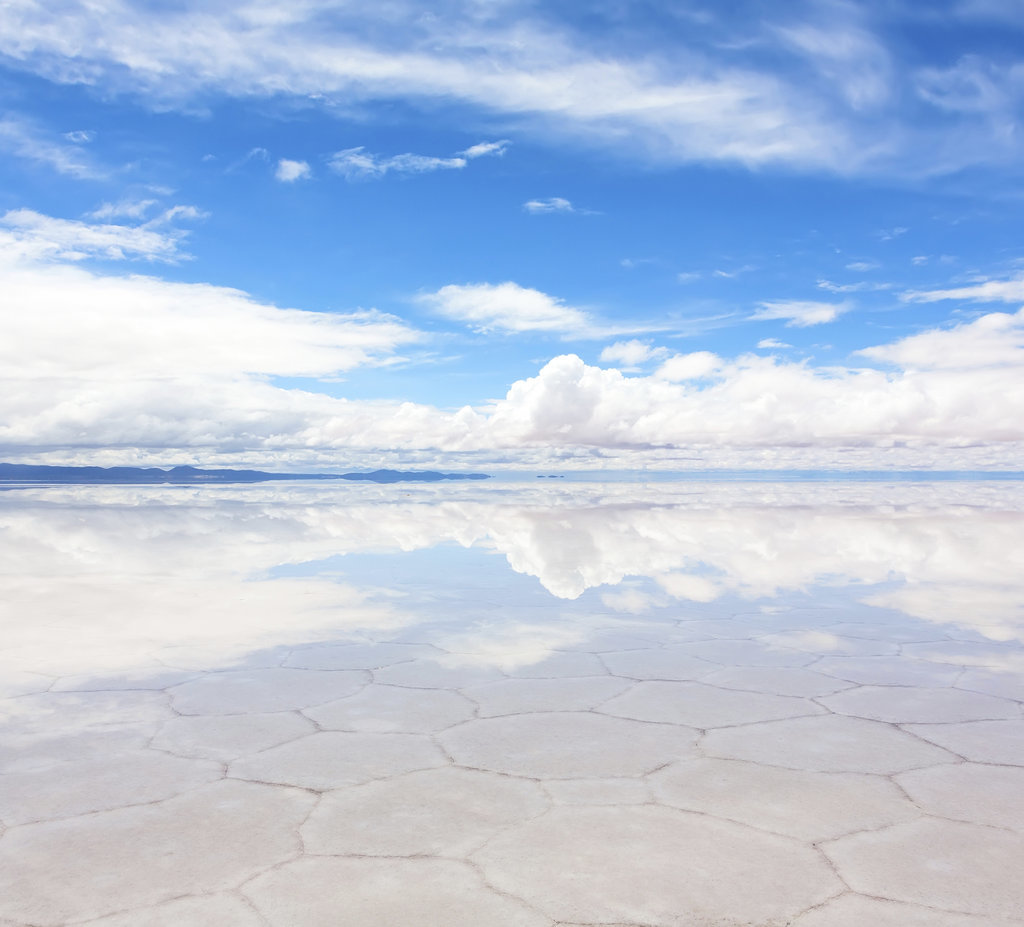 Literally Reflect at Salar de Uyuni, Bolivia